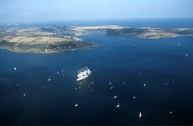 ST MAWES HARBOUR: LANDSCAPE, CASTLE, BOAT  © Cornwall Council