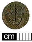 Post medieval seal matrix from NHER 41010  © Norfolk County Council