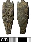 Middle Saxon/Late Saxon strap end from NHER 21106  © Norfolk County Council