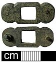 Medieval strap fitting from NHER 2634  © Norfolk County Council
