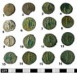 Roman coin hoard (reverse) from NHER 41008  © Norfolk County Council