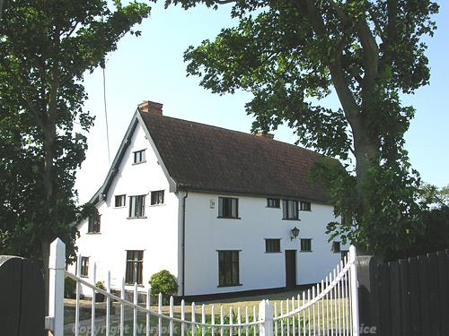 Manor Farm in Dickleburgh is a mid 17th century timber-framed farmhouse