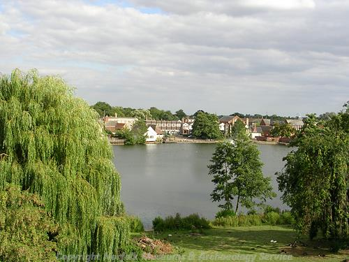 View of the mere.