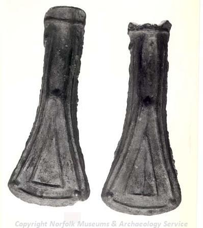 A Bronze Age mould used for making palstaves