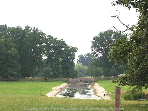 Lexham Hall park - view of the Broadwater?