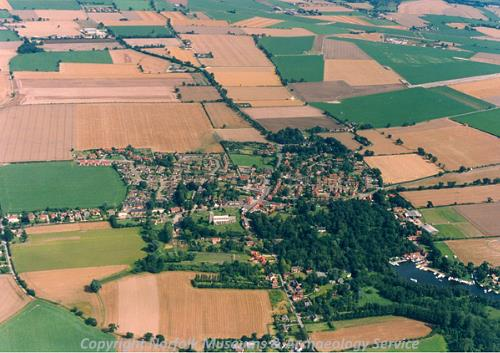 Ludham from the air.