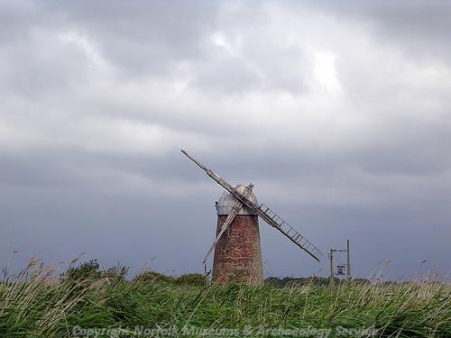 Mid 19th century windpump.