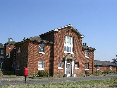 Photograph of Pulham former workhouse 1836.