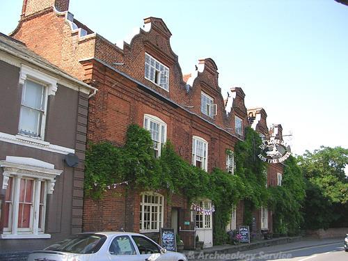 Mid 17th century Scole Inn.