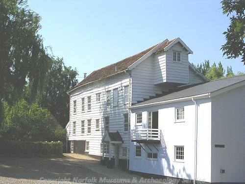 18th century watermill on River Tas, now converted into a house.