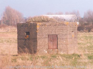 Great War pillbox, A47 Acle Straight, Great Yarmouth