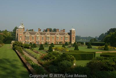 National Trust photograph of Blickling Hall, an important Jacobean mansion.