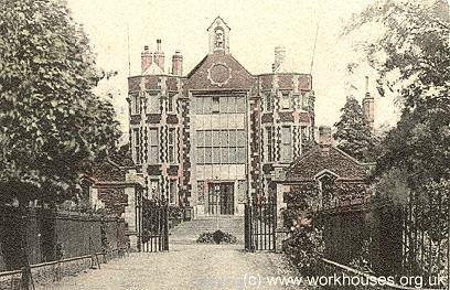 Downham Market workhouse. Designed by Donthorne in Elizabethan style the building was completed in 1836