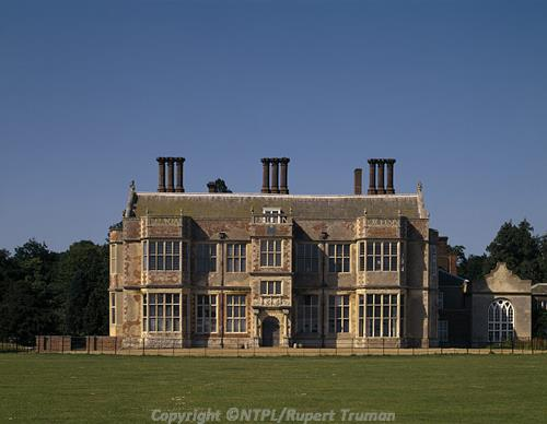 Photograph of Felbrigg Hall, a 17th century mansion, built between 1620 and 1687. Photograph from the National Trust Image Library.