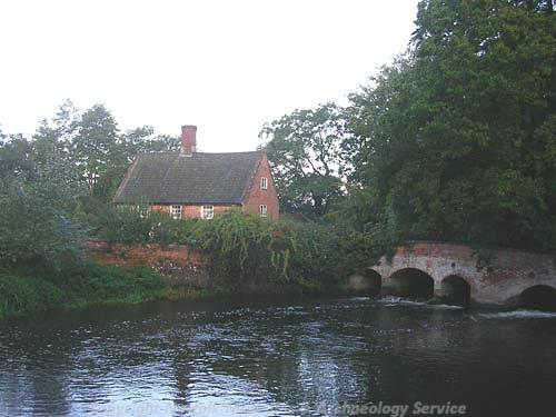 Photograph of the Mill House, Lyng.