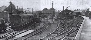 Photograph of Melton Constable station. Photograph from Eastern Daily Press.
