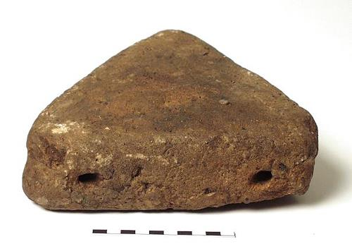 An Iron Age loomweight from Wereham.
