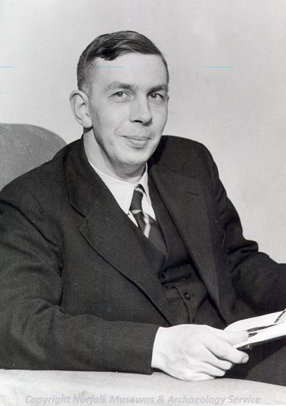 Photograph of Roy Rainbird Clarke, 1914 to 1963.