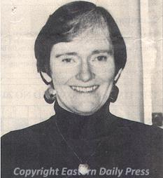 Photograph of Sue Margeson, 1948 to 1997.