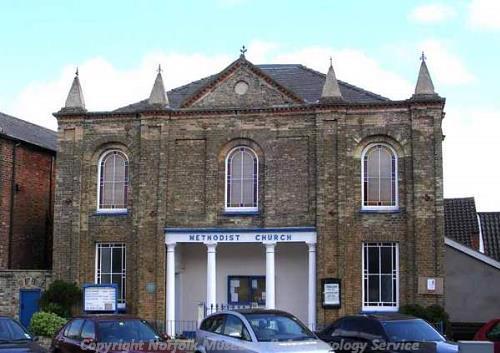 Photograph of the Methodist Chapel, Swaffham.
