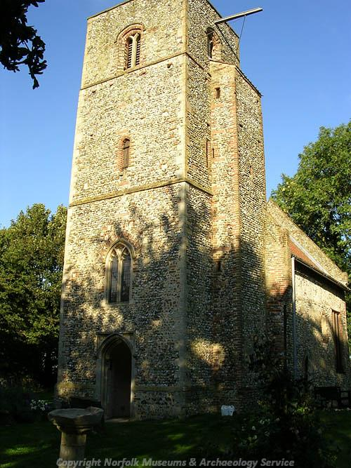 Photograph of St Mary's Church, Houghton-on-the-Hill.