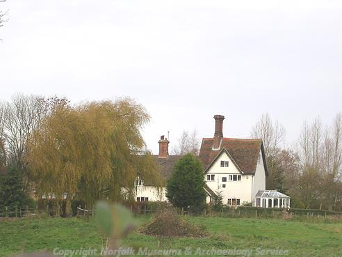 Hollands Hill, a 16th century timber framed hall house.