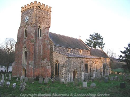 Photograph of St Mary's Church, Denton.