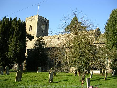 Photograph of All Saints' Church, Dickleburgh.