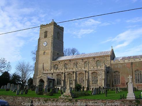 Photograph of St Martin's Church, Fincham.