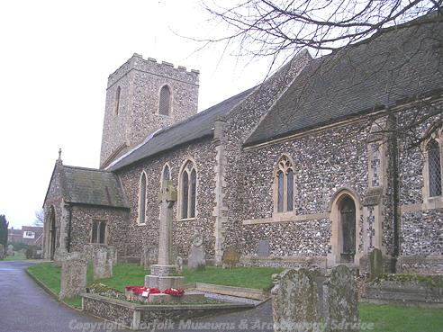 Photograph of St Margaret's Church, Drayton.