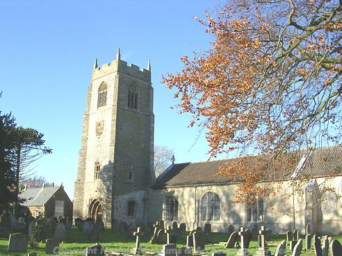 Photograph of St Mary's Church, Holme Next The Sea.