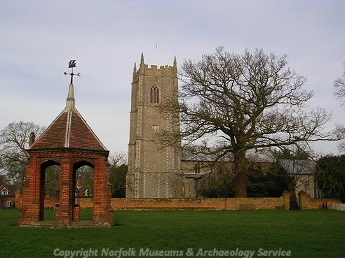 Photograph of SS Peter and Paul's Church, Heydon.