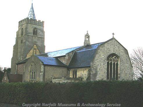 Photograph of St Peter's Church, West Lynn.