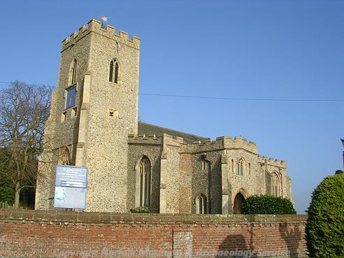 Photograph of St Margaret's Church, Hempnall.