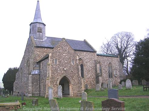Photograph of St Mary's Church, Hellesdon.