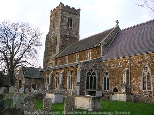 Photograph of St Mary's Church, Middleton.