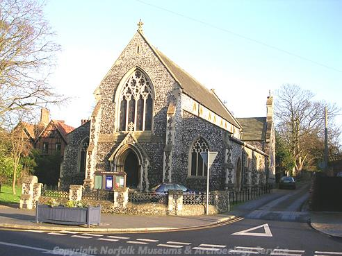 Photograph of St John the Baptist's Church, Harleston.