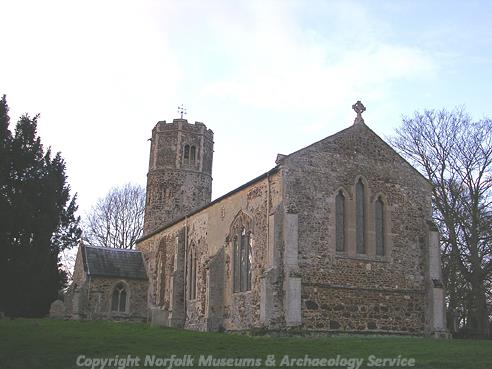 Photograph of St Mary's Church, Bexwell.