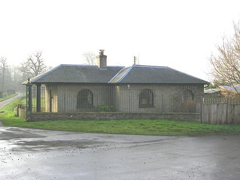 Photograph of Shotesham Park Norwich Lodge.