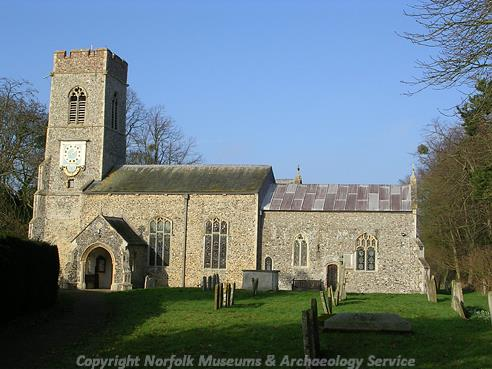 Photograph of St Mary's Church, Saxlingham Nethergate.