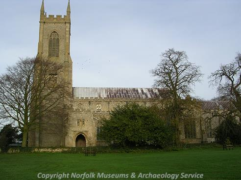 Photograph of St Peter's and St Paul's Church, Salle.