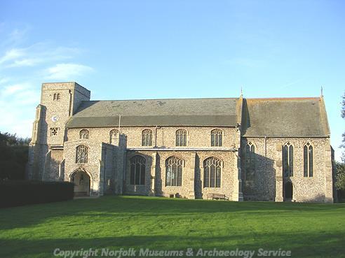 Photograph of All Saints' Church, Thornham.