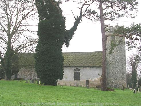 Photograph of St Edmund's Church, Taverham.