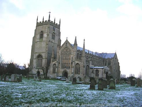 Photograph of St Clement's Church, Terrington St Clement.