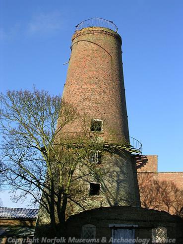 Photograph of Ingleborough Mill, West Walton.