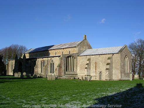 Photograph of St Mary's Church, West Walton.