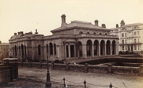 Photograph of the Assembly Rooms, Great Yarmouth. From Picture Norfolk.