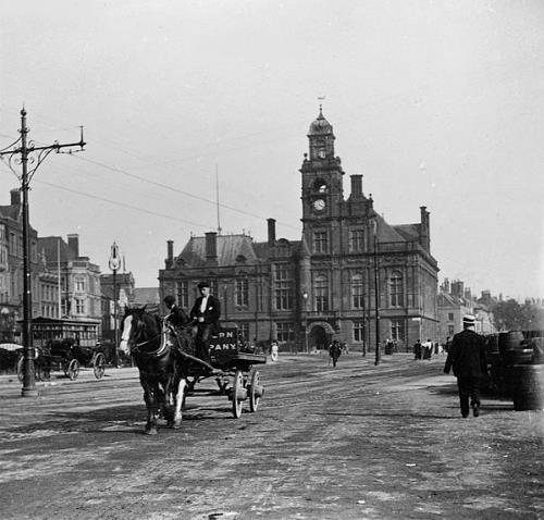 Photograph of Great Yarmouth Town Hall.