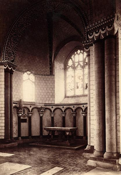 Photograph of a chantry chapel in Norwich Cathedral. From Picture Norfolk.
