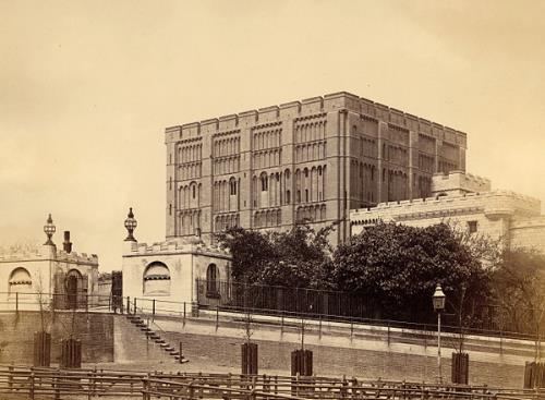 Photograph of Norwich Castle. From Picture Norfolk.